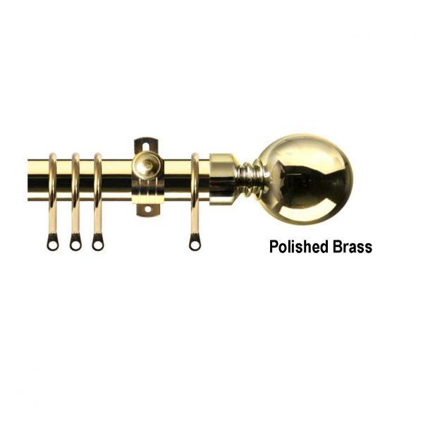 Orbit Polished Brass