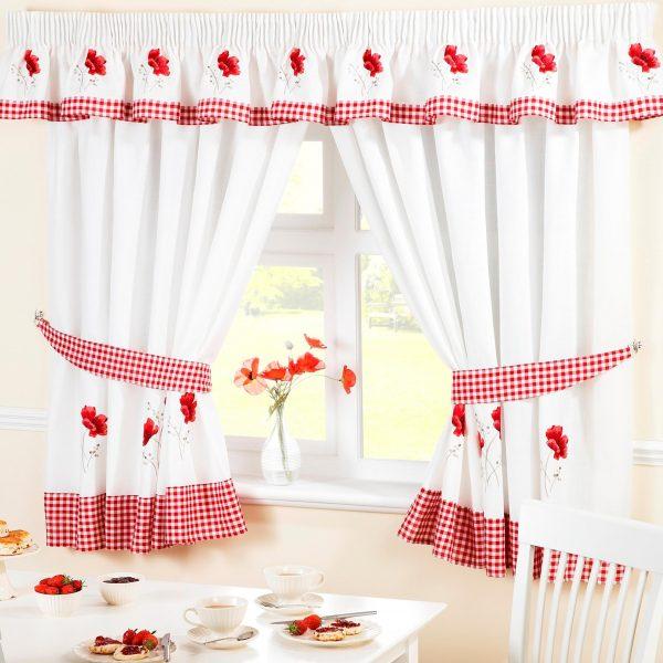 Poppy Kitchen Curtains