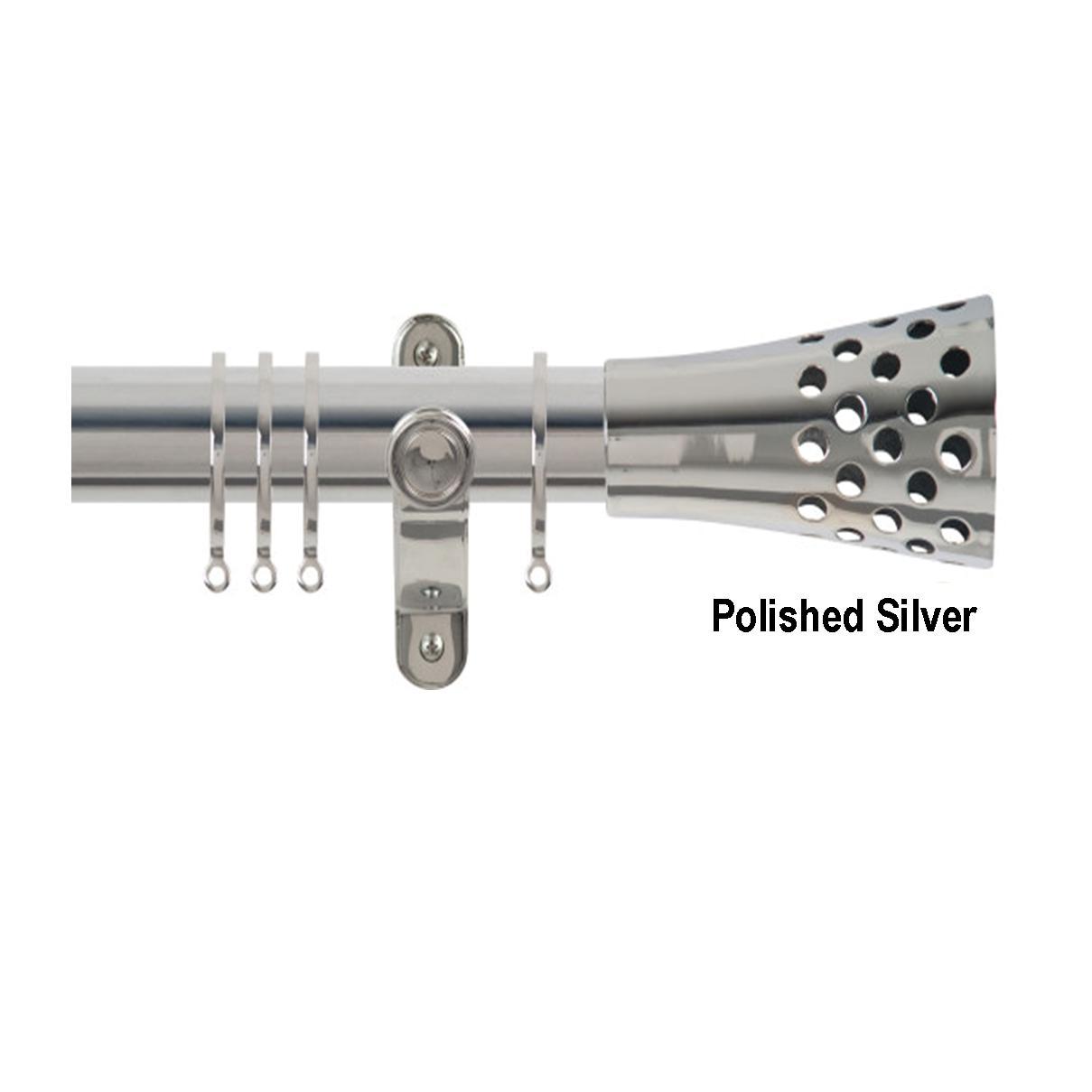 Spectrum Trumpet 50mm Pole Set Curtains At Home