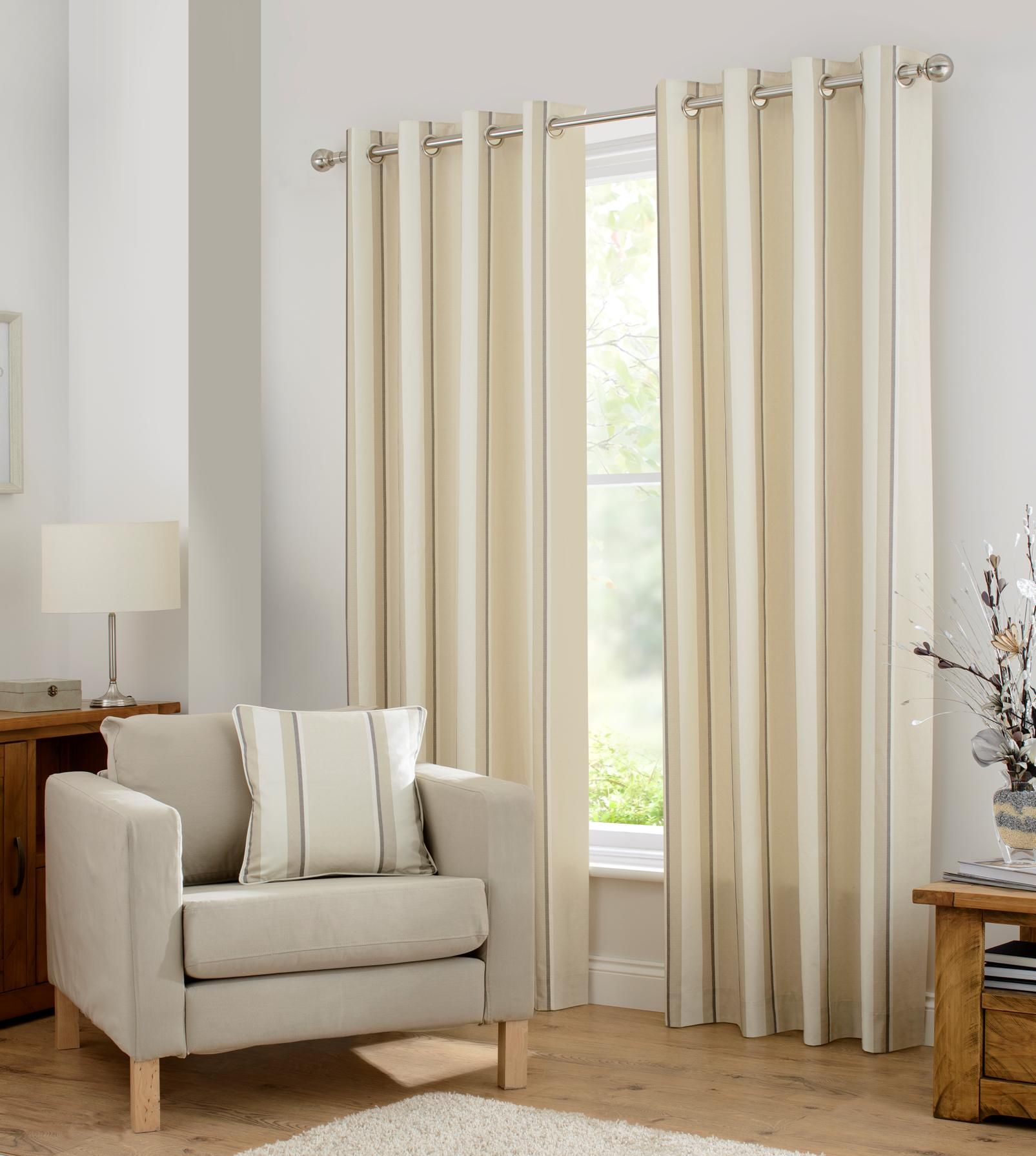 Central Park Eyelet Curtains At Home