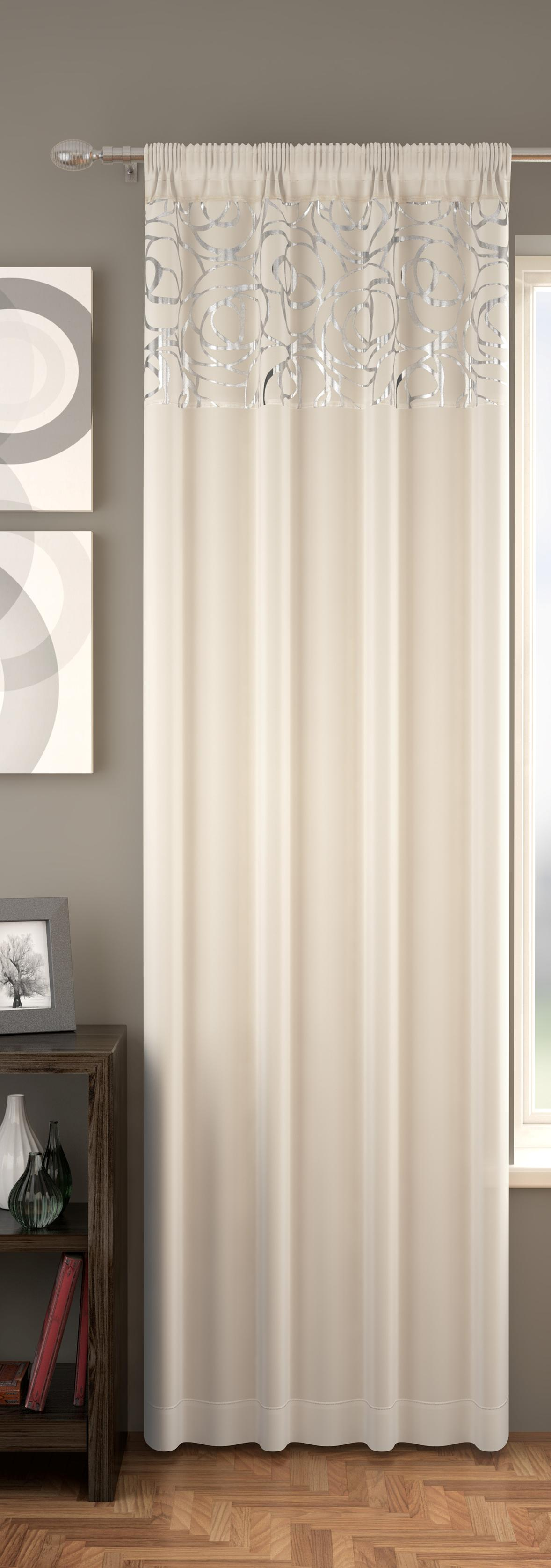 Arran Voile Panel Curtains At Home