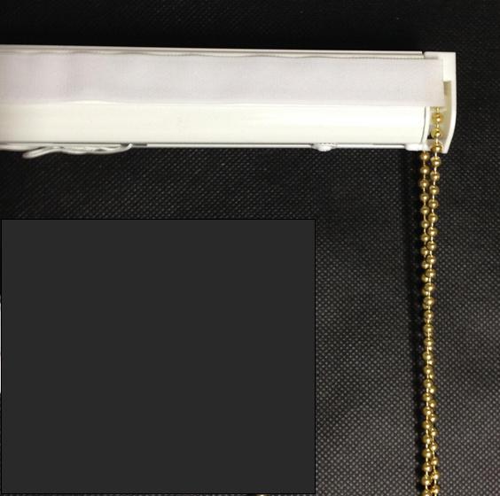 Brass Chain Roman Blind Kit