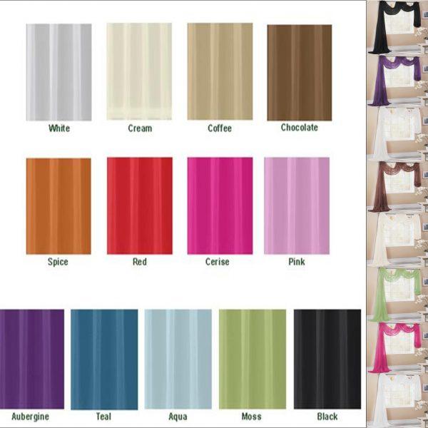 Scarves Colour Guide