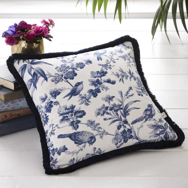 Amelia Blue cushion