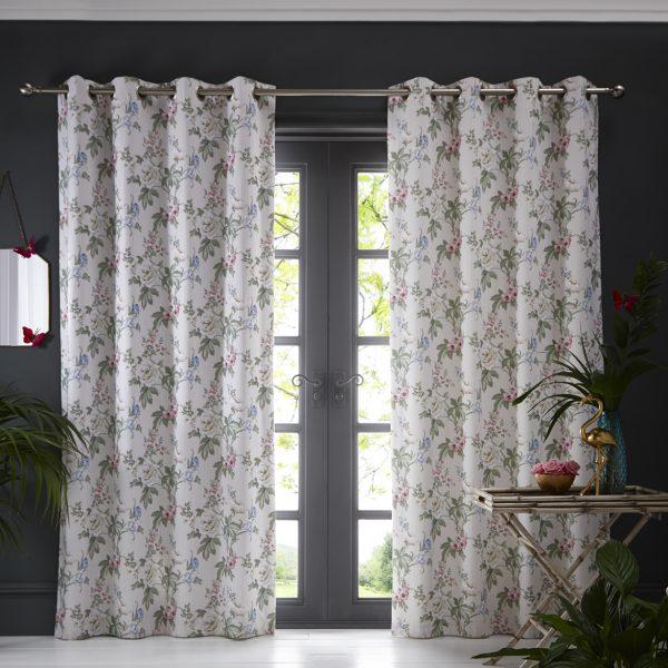 Bailey Curtain Blush
