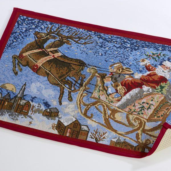 Santa Sleigh Doormat - CHR045