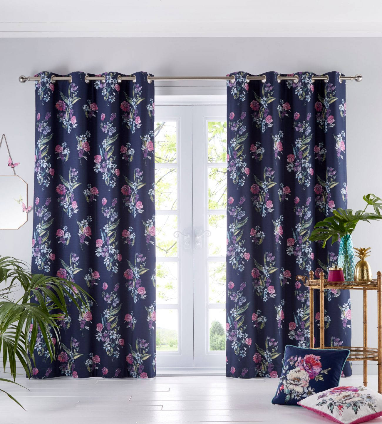 Oasis Luna Curtains Ivory Curtains At Home