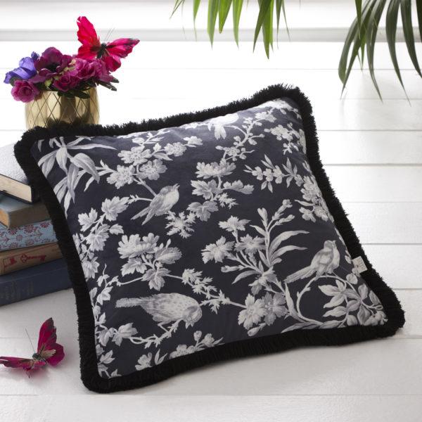 Amelia Charcoal Cushion