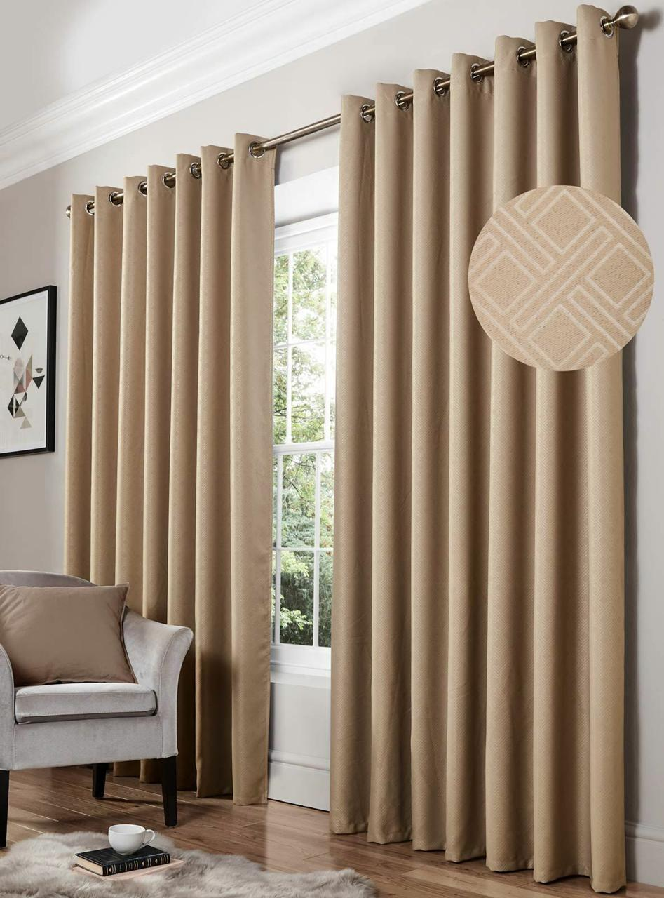 Diamond Blackout Curtains Mink Curtains At Home