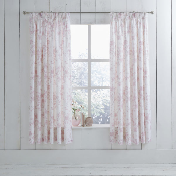 Amelie Pink Curtain