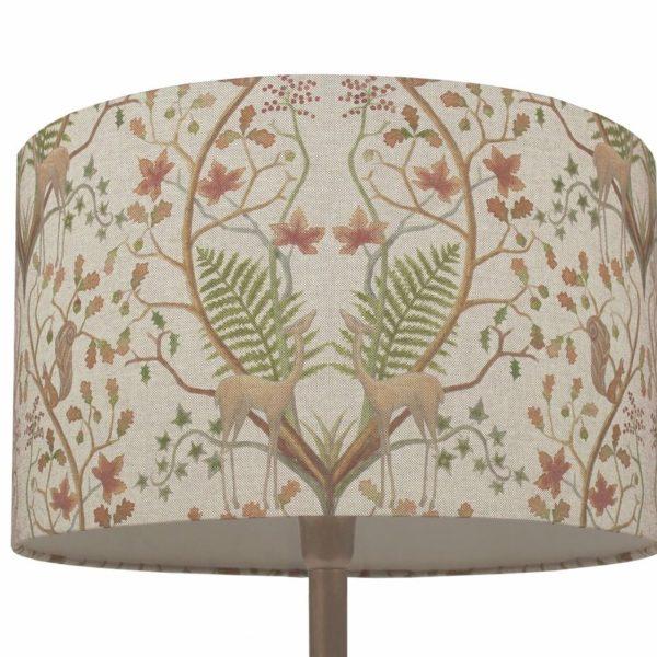 WOODLAND lampshade linen