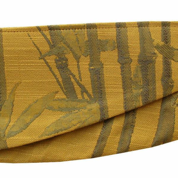 bamboo tiebacks - ochre