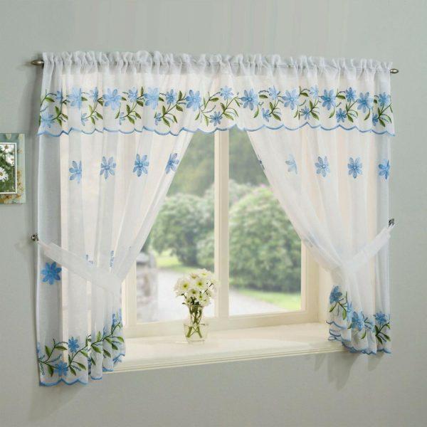 daisy window set BLUE