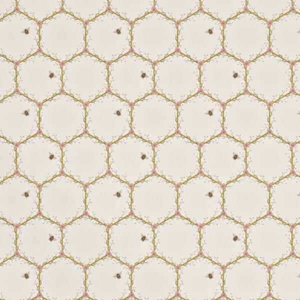 Honeycomb Fabric Flat Shot