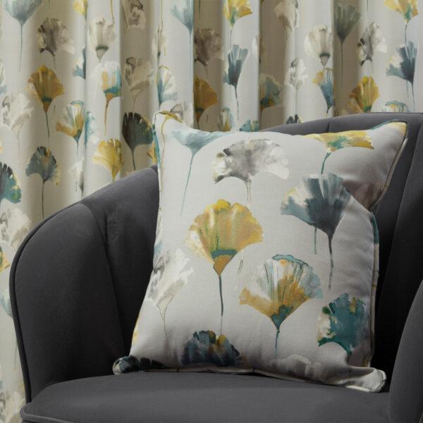 camarillo cushion cover chartreuse